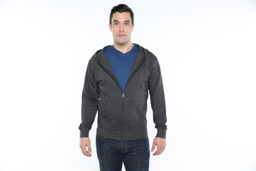 27d2cdab99 Mens French Terry Full-Zip Hoodie